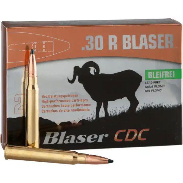 Blaser Munition .30 R Blaser CDC 160gr 20 Schuss