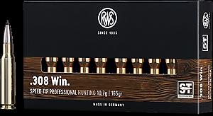 RWS 308Win. Speed Tip Pro Short Rifle 165grs