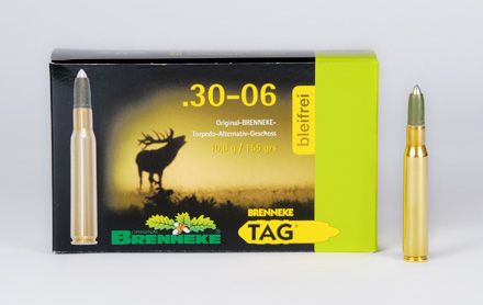 Brenneke .30-06 Springfield TAG 155 grs, 20 Schuss