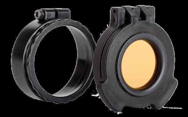 Tenebraex Okularschutzkappe UAC101-ACR, orange-transparent