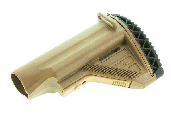 Heckler & Koch HK417 / MR308 Schulterstütze mit Staufach, RAL8000