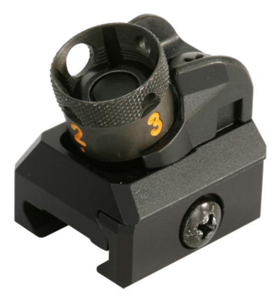 """Heckler & Koch HK417 / MR308 Trommelvisier Picatinny für 13"""" / 16.5"""" Lauf mit 28,4mm Visierlinie"""