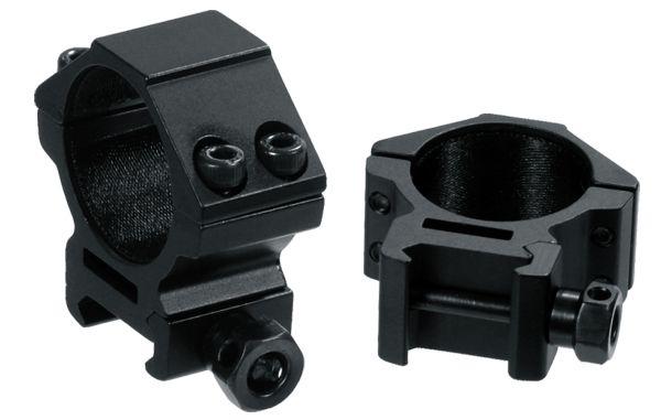 UTG Ø30mm Montageringe, BH 9mm, RB 21mm