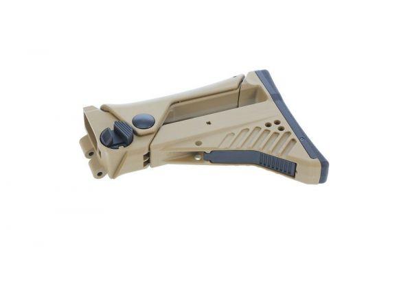 Heckler & Koch G36 / HK243 IDZ Schulterstütze verstellbar Konkav RAL8000