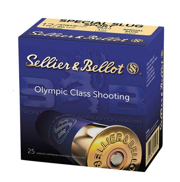 Sellier & Bellot Sport Slug 1267,5 Blei 28g, 25 Schuss