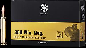 RWS Target Elite Plus .300 Win. Mag. 190grs