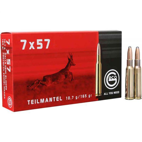 Geco 7x57, Teilmantel 165 grs.