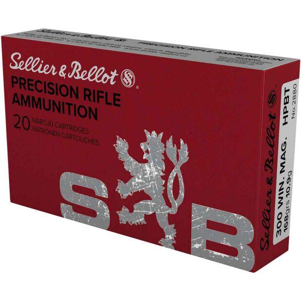 Sellier & Bellot .300 Win. Mag. HPBT 168 grs, 20 Schuss