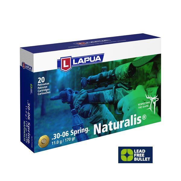 Lapua .30-06 Springfield Naturalis 170 gr, 20 Schuss