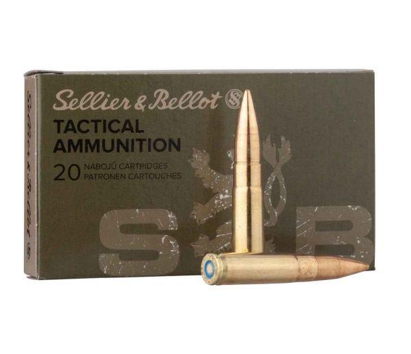 Sellier & Bellot .300 AAC Blackout Subsonic FMJ 200 grs, 20 Schuss