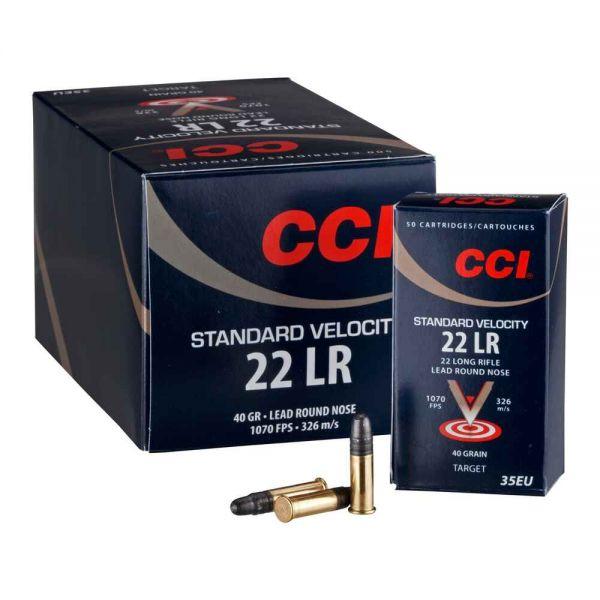 CCI .22LR Standard 40 grs Blei, 500 Schuss
