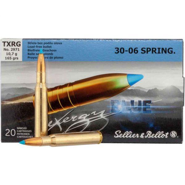 Sellier & Bellot .30-06 Spr. TXRG Blue 165 gr, 20 Schuss