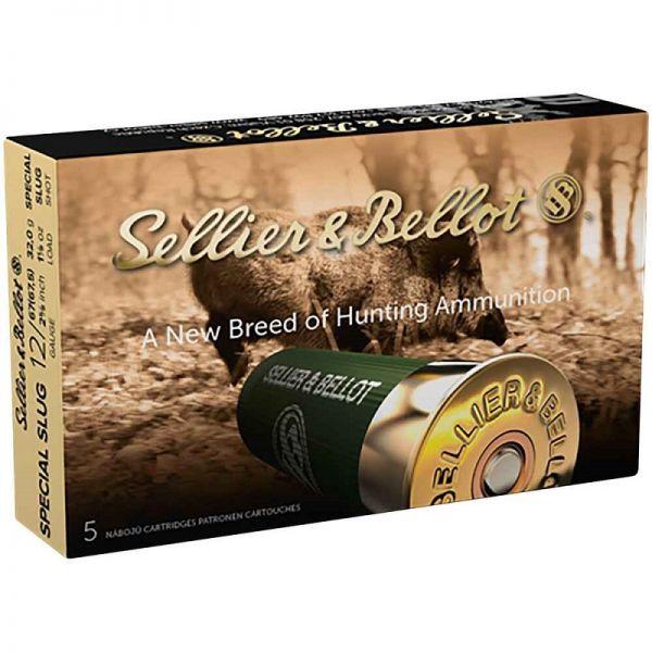 Sellier & Bellot Special Slug 1267.5 32g, 5 Schuss