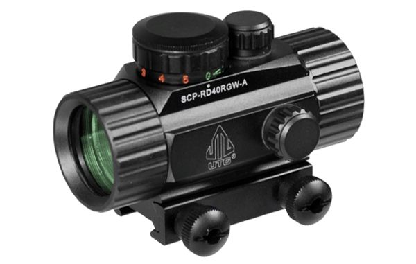 UTG Leuchtpunktvisier 1x30mm rot/grün Absehen