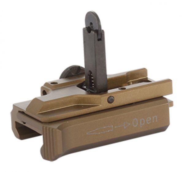 Heckler & Koch MR Schnellwechselvisier 33mm Visierlinie ∅2mm RAL8000