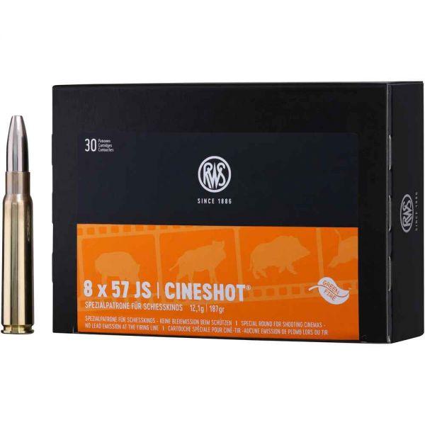 RWS Cineshot Munition 8x57 IS 187 grs, 30 Schuss
