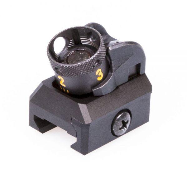 """Heckler & Koch HK416 / MR223 Trommelvisier Picatinny für 11"""" Lauf mit 28,4mm Visierlinie"""