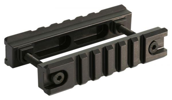 Heckler & Koch Picatinny Schiene beidseitig (lateral) für Visierschienen, Aluminium
