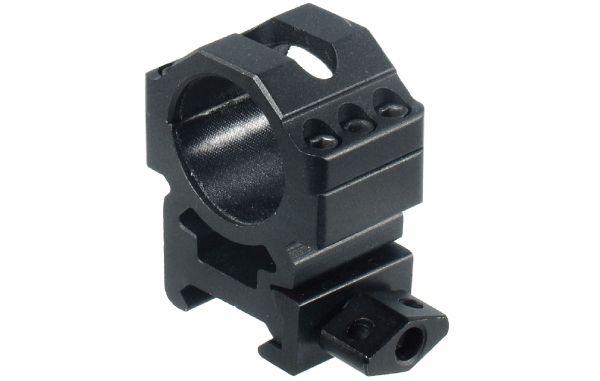 UTG Ø25,4mm Schnellspannmontageringe BH 15mm, B 25mm