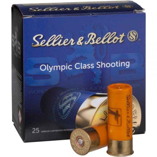 Sellier & Bellot 12/67,5 Subsonic Trap 28 gr. 2,4 mm, 25 Schuss