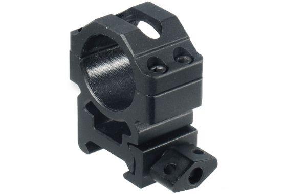 UTG Ø25,4mm Schnellspannmontageringe BH 15mm, B 22mm