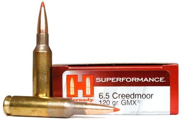 Hornady SPFI GMX Superformance 6,5 Creedmoor 120gr, 20 Schuss