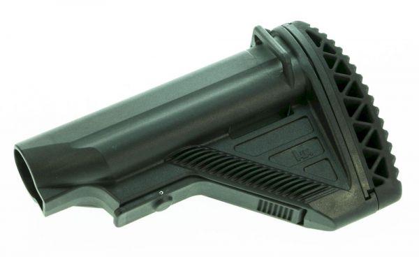 Heckler & Koch HK416 / MR223 Schulterstütze mit konvexer Schulteranlage und mit langem Verstellhebel