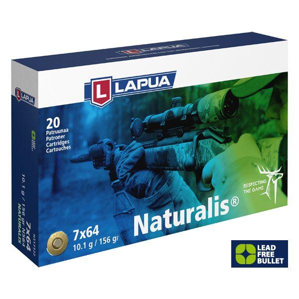 Lapua 7x64 Naturalis 156 grs, 20 Schuss