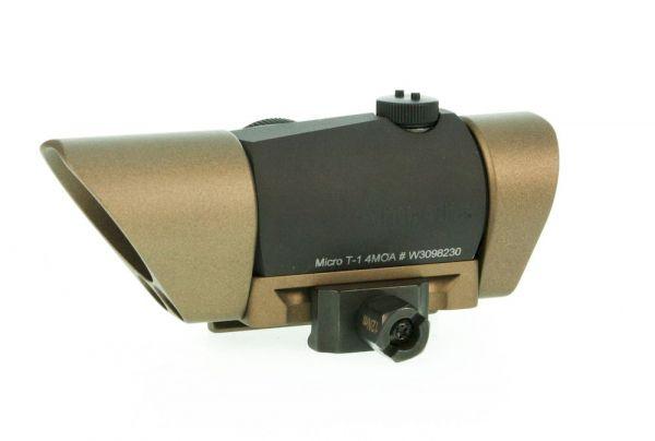 Heckler & Koch Micro T-1 Rotpunktvisier G28 komplett mit Montage u. Sonnenblenden