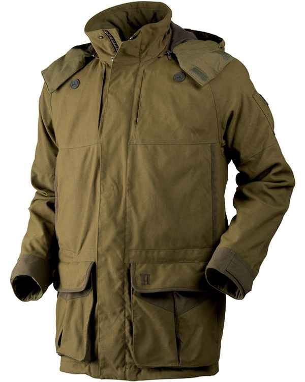 Härkila Full Zip Softshell Jacke AXIS MSP® Forest green im