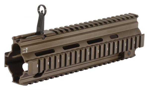 Heckler & Koch HK416 / MR223 Picatinny Handschutz mit integriertem Klappkorn