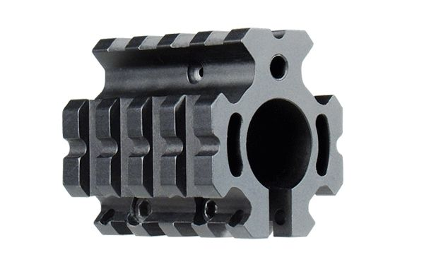 UTG PRO 4-Picatinny Schienen AR-15 Gasblock, niedriges Profil