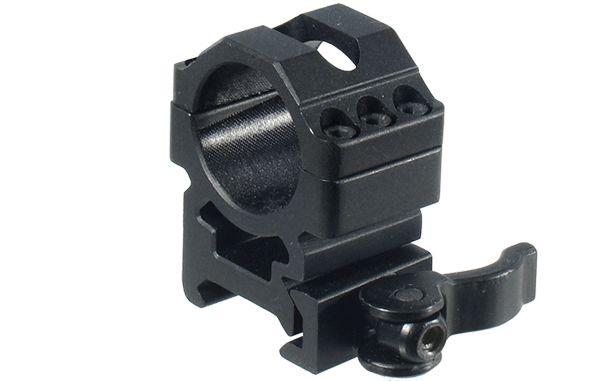 UTG Ø25,4mm Schnellspannmontageringe, BH 15mm, RB 25mm