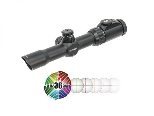 UTG 1-8x28 CQB-Jagd Zielfernrohr Mil-Dot Parallaxe 30m