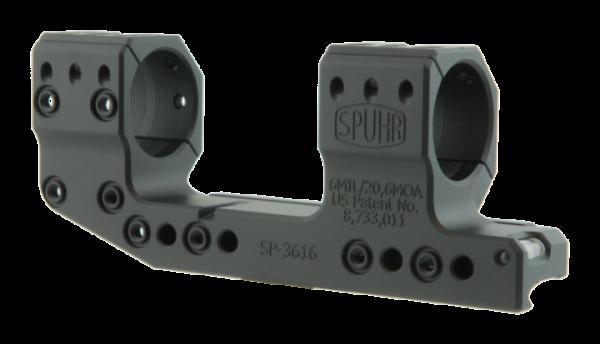 Spuhr Ø30 H38mm 20,6MOA Cantilever / versetzte Blockmontage