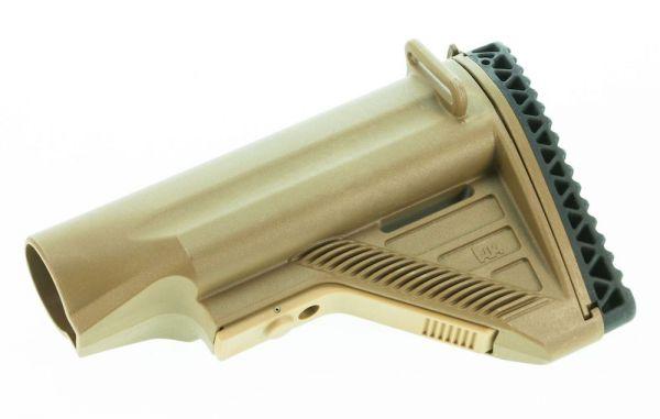 Heckler & Koch HK417 / MR308 Schulterstütze konkav mit kurzem Verstellhebel, RAL8000