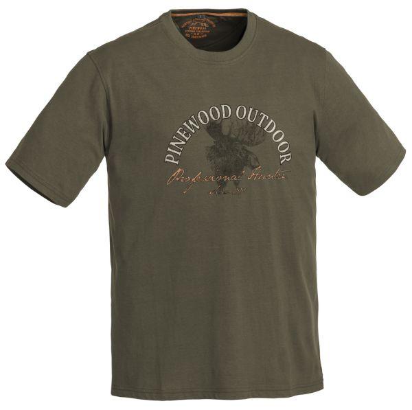 Pinewood Moose 2018 T-Shirt (Kaki Grün 121)