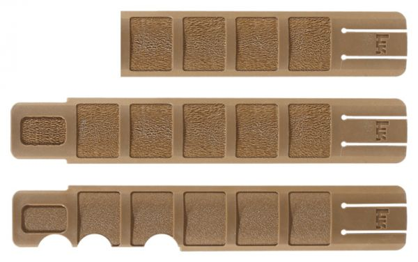 Heckler & Koch Picatinny Schutzleistensatz RAL8000
